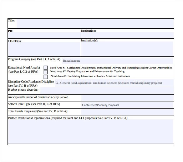 9+ Project Summary Samples Sample Templates