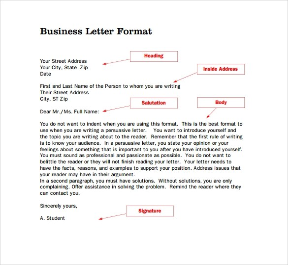 Standard business letter format uk resume pdf download standard business letter format uk how to format a uk business letter daily writing tips example spiritdancerdesigns Image collections
