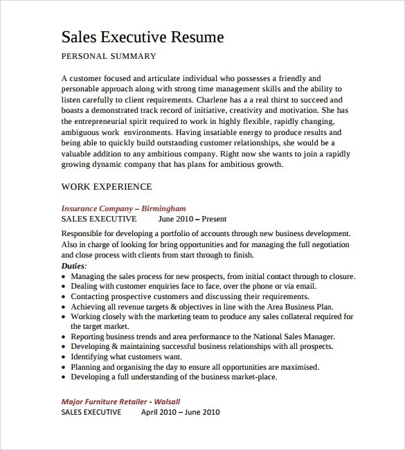 Sample IT Resume - 12+ Documents in PDF, Word