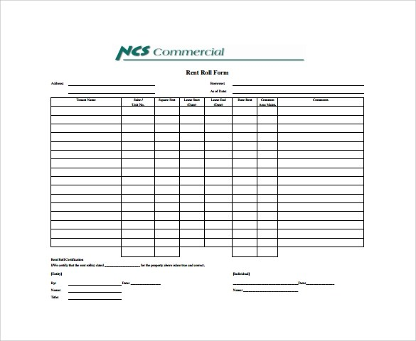 Rental Agreement Sample Nj Equipment Interchange Agreement Welcome To Trac  Connect Sample Rent Roll Form 13