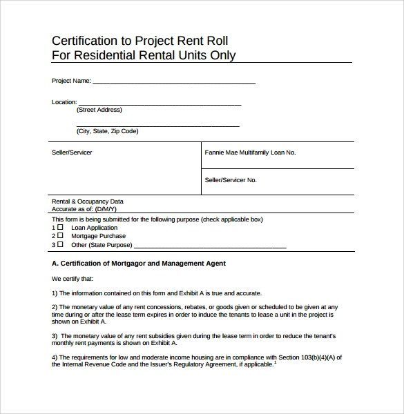 rent roll form wtfhyd - rent roll form