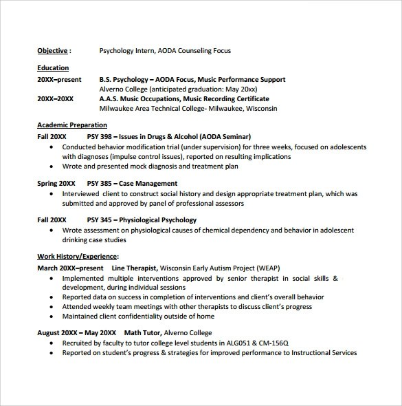 best resume format for college student – College Graduate Resume