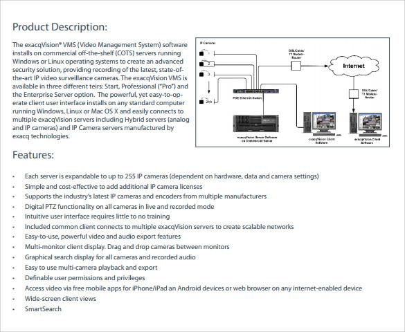 8 Product Description Templates \u2013 Samples , Examples  Format
