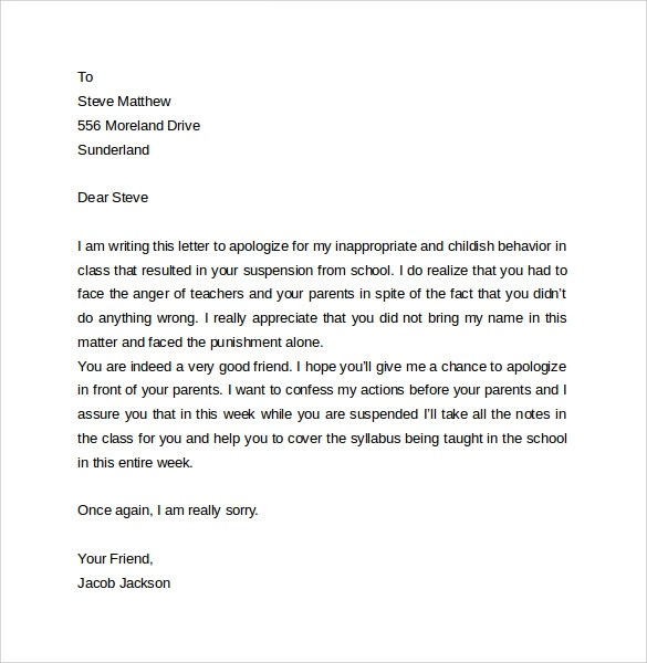 Legal Letter Apology | Best Resume Creation Program