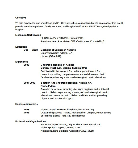 skills for nursing resumes skills for nursing resumes - Sample Nursing Resumes