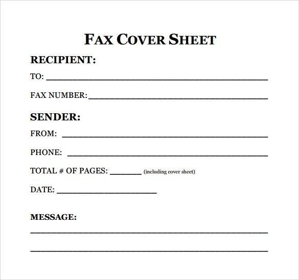 fax cover sheet resume - Doritmercatodos