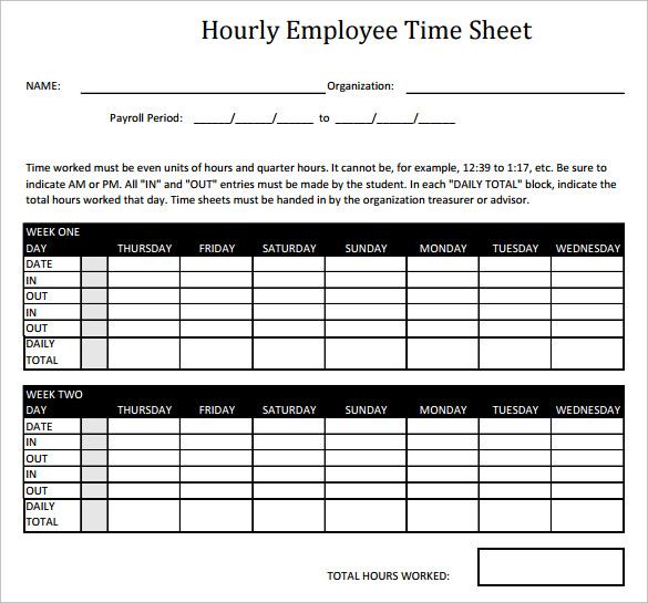timesheet hours calculator online
