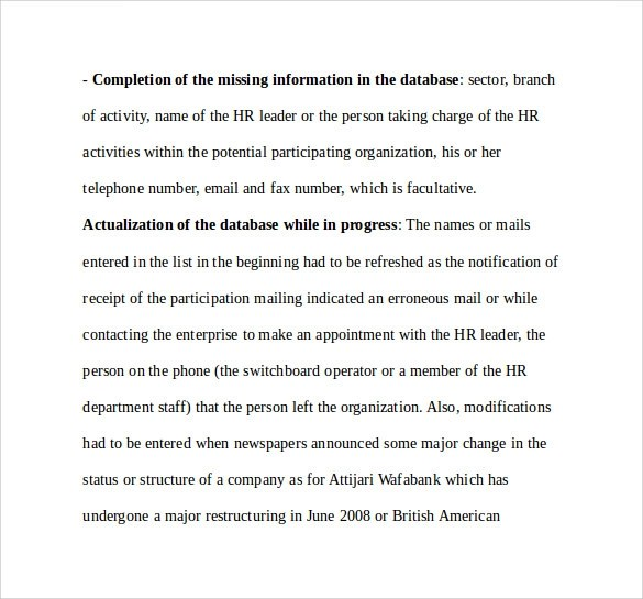 Great ... Sample Internship Report Template U2013 9+ Free Documents Download In   Internship  Report ...
