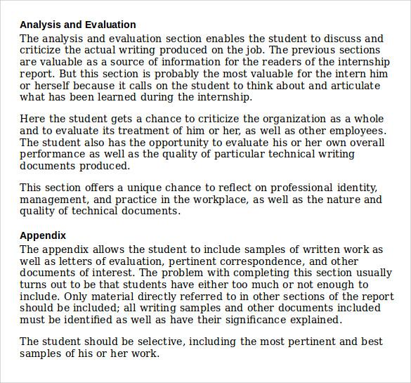 internship daily report sample