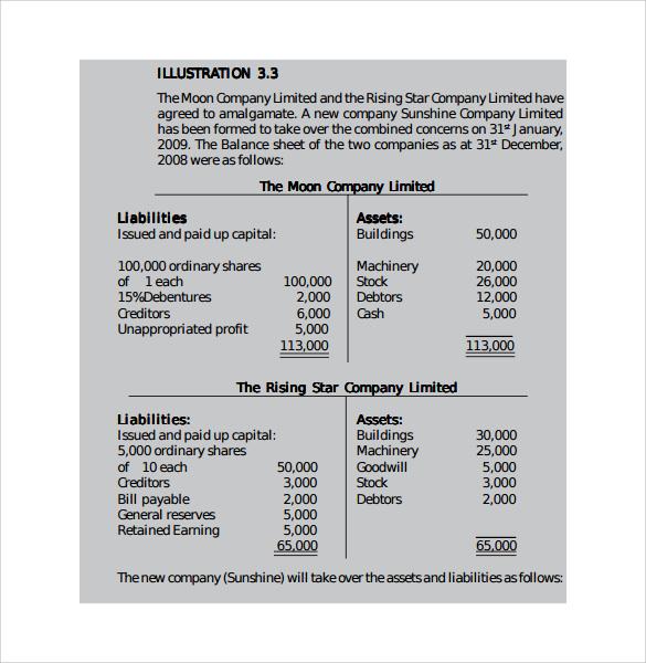 11+ Financial Report Templates Sample Templates