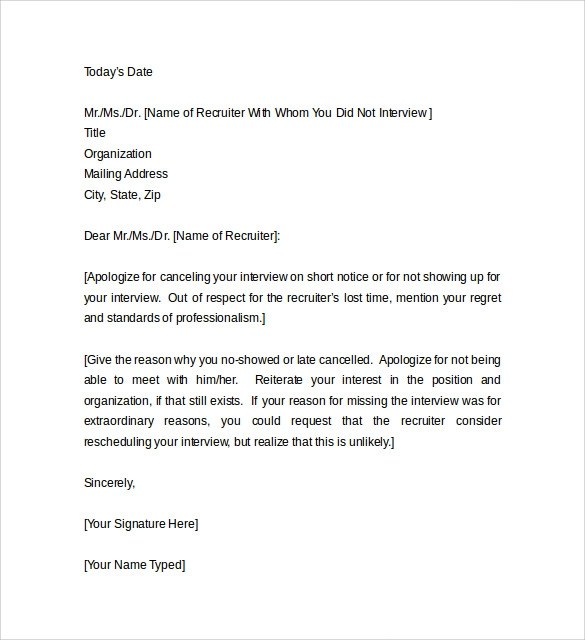 Sample Apology Letter for Being Late - 8 + Free Documents to Download - format of apology letter