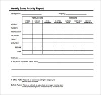Great Activity Report Template Pictures >> Sales Activity ...
