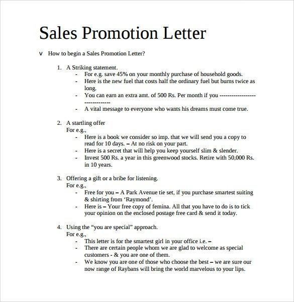 17+ Promotion Letters Sample Templates