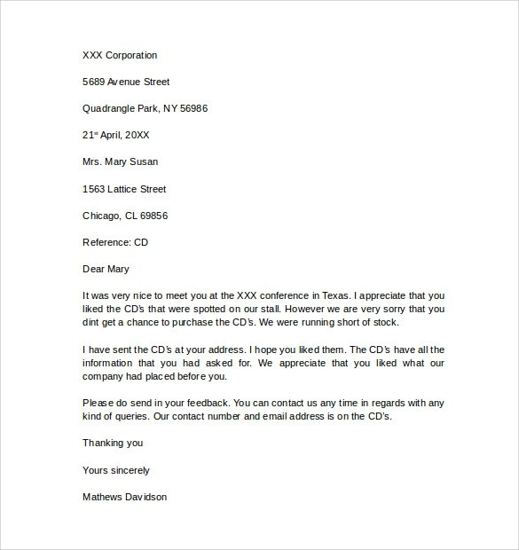 12 Business Letter Templates \u2013 Free Samples , Examples  Format - Professional Business Letter Format