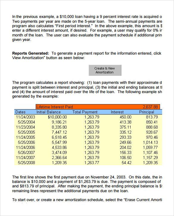 Sample Balloon Loan Calculator - 9+ Documents in PDF