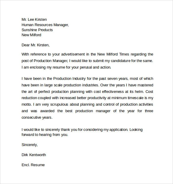 ... Resume Cover Letters Resume Cover Letter Format Sample   Http   Production  Manager Cover Letter ...