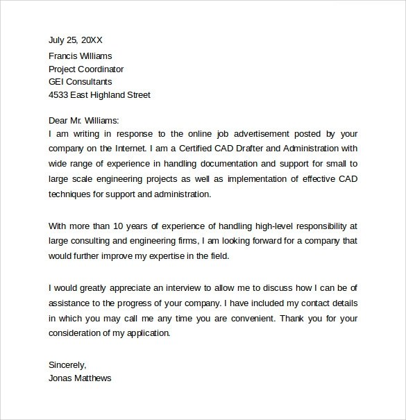 cover letter samples relocation - Relocation Cover Letter Examples