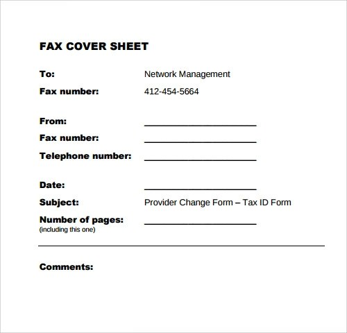 generic fax cover sheet template - sample funny fax cover sheet