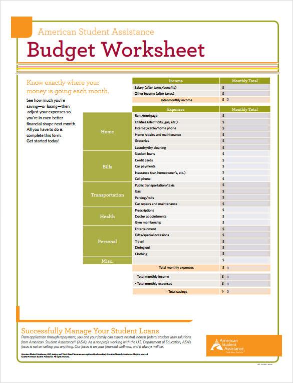 9+ Sample Budget Calculators Sample Templates - home budget calculator excel