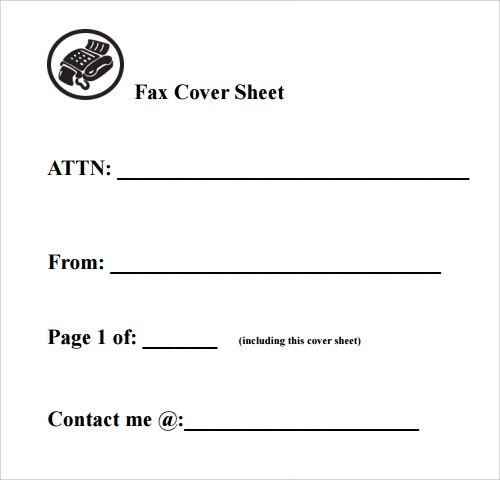 Sample Modern Fax Cover Sheet 9 Documents In Pdf  FREE Fax Cover