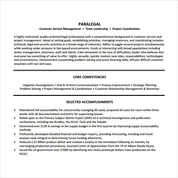 Resume Templates For New Grads Entry Level Job Seekers Sample Paralegal Resume 11 Download Free Documents In