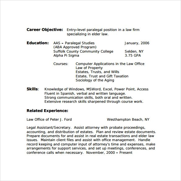 Simple Resume Format Doc  Resume Format And Resume Maker