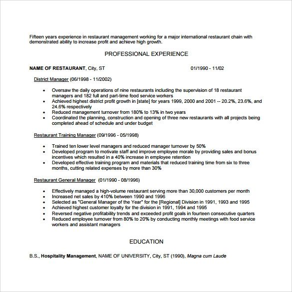 resume download word document