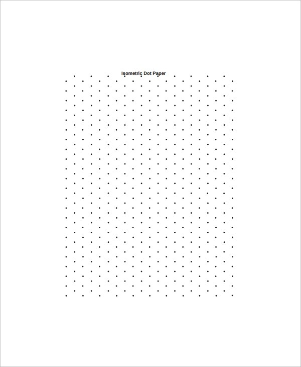 Sample Dot Game Template - 9+ Documents in PDF - dot paper template