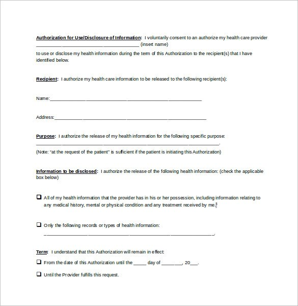 Generic Release Form Video Release Form Template Beautiful Generic - medical release form sample