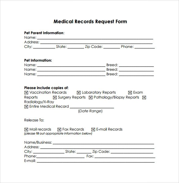 11+ Medical Records Release Forms \u2013 Samples, Examples  Format - medical release form sample