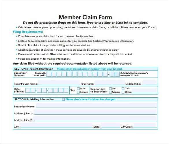 Medicare Claim Form California | Sample Resume For Entry Level