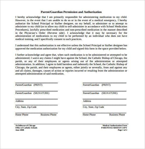 Medication Consent Form Template informed consent wikipedia free - free child travel consent form template