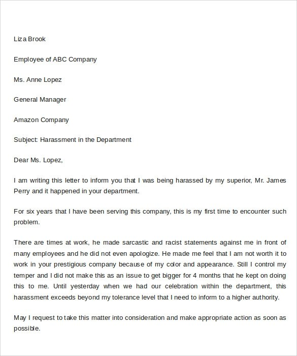 Complaint format colbro 9 sample complaint letter format templates to download sample spiritdancerdesigns Gallery