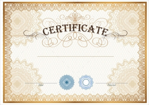 13+ Sample Blank Gift Certificate Templates - Sample PSD, Word, AI