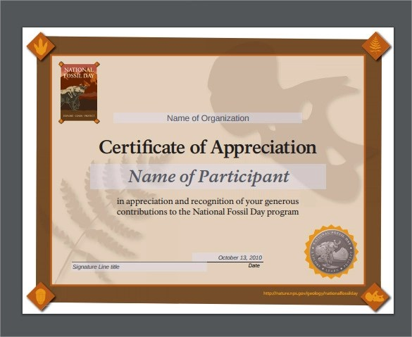 24 Sample Certificate of Appreciation Temaplates to Download - army certificate of appreciation template