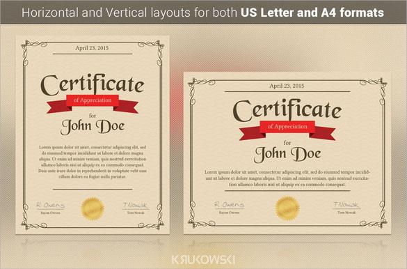 samples of certificate of appreciation - Josemulinohouse
