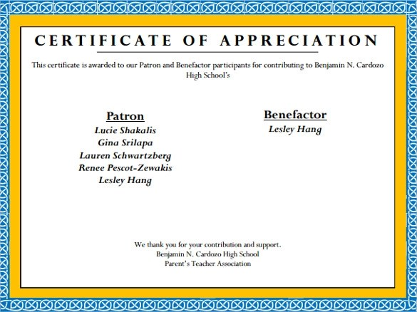 24 Sample Certificate of Appreciation Temaplates to Download - Sample Certificate Of Appreciation