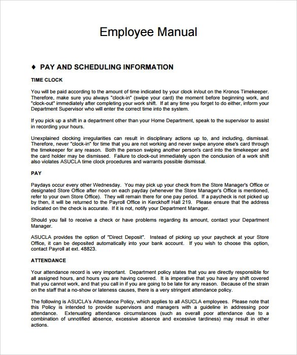 Top Result 60 Lovely Employee Handbook Template for Small Business - business manual template
