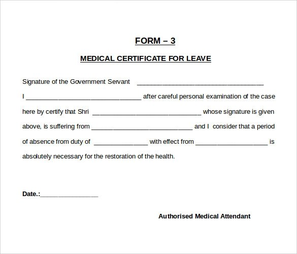 medical illness certificate format india radiovkm