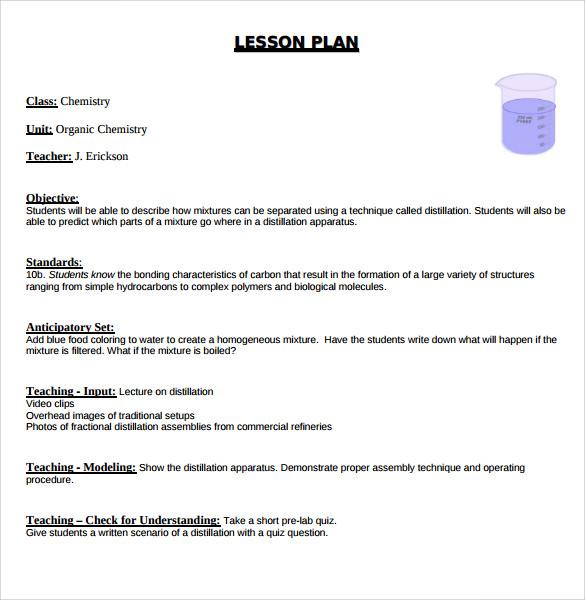 12+ Sample Madeline Hunter Lesson Plans Sample Templates - madeline hunter lesson plan template
