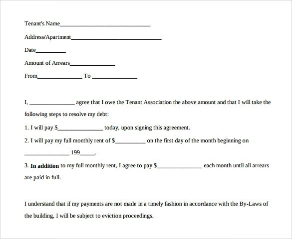 Sample Payment Agreement - 13+ Documents In PDF - monthly payment contract template