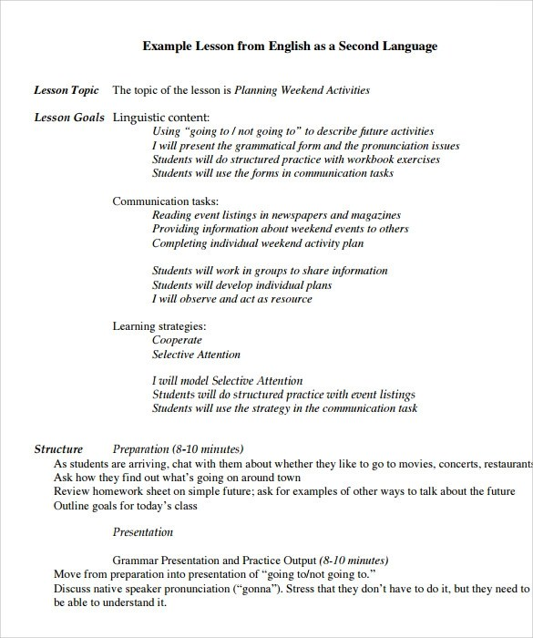 word lesson plan templates word lesson plan templates