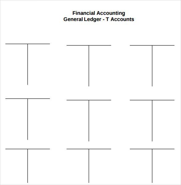 Sample General Ledger - 6+ Documents in PDF