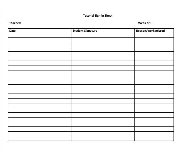 sign in sheets pdf - zaxa