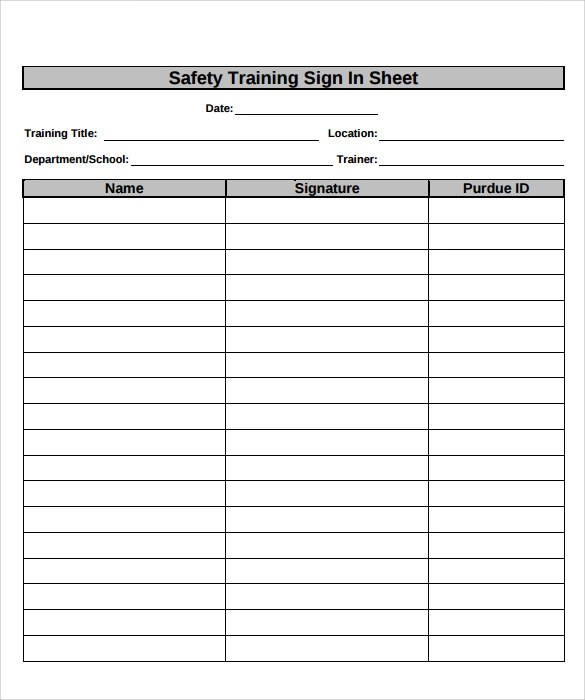 sign off sheets templates reference letter for employee template