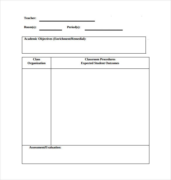 Sample Physical Education Lesson Plan - 14+ Examples in PDF, Word Format