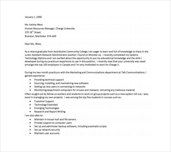 executive assistant cover letter template