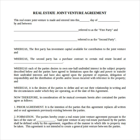 Business Investment Agreement Sample – Business Investment Agreement