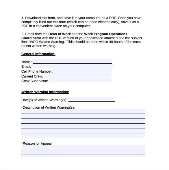 The Basics of Writing an Employee Warning Letter - feodtifet
