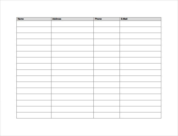 Sample Meeting Sign in Sheet - 9 + Documents in PDF, Word - meeting sign in sheet